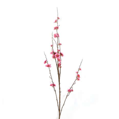 Artificial Mauve Peach Blossom