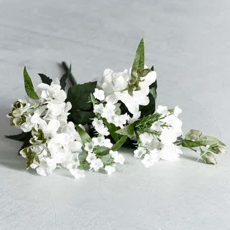 Artificial Cream Larkspur Posy