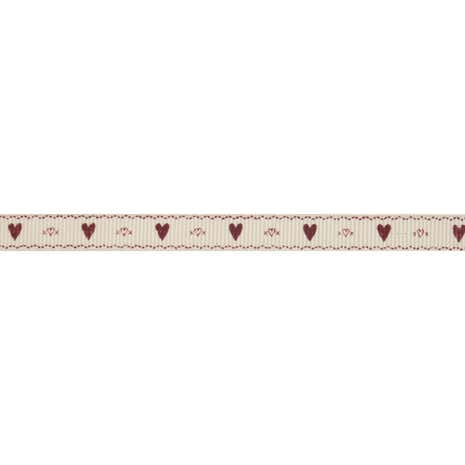 Bowtique Hearts Grosgrain Ribbon