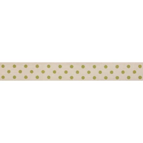Bowtique Green Dotty Ribbon