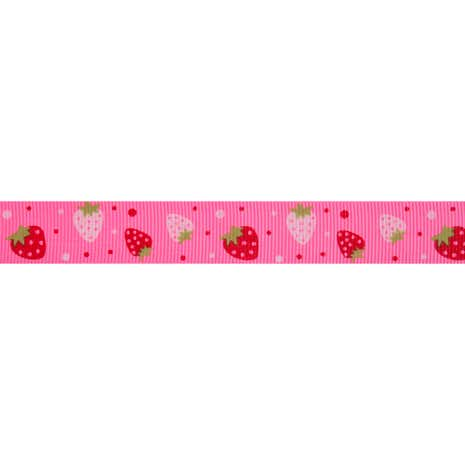 Bowtique Grosgrain Berries Ribbon