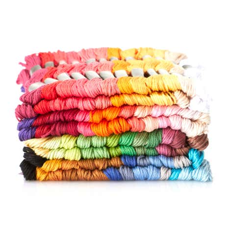 Pack of 100 Embroidery Skeins