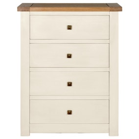 Henley Cream 4 Drawer Chest