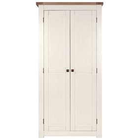Henley Cream Double Wardrobe