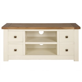 Henley Cream Wide TV Stand
