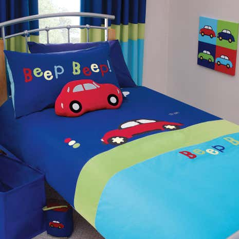 Kids Beep Duvet Cover Set
