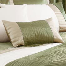 Green Athens Boudoir Cushion