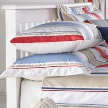 Blue Nautica Stripe Oxford Pillowcase