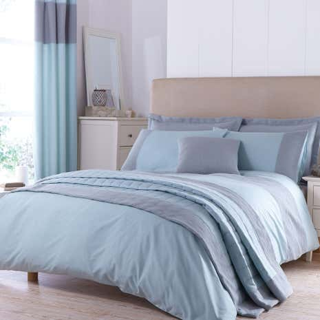 vancouver teal duvet cover dunelm. Black Bedroom Furniture Sets. Home Design Ideas