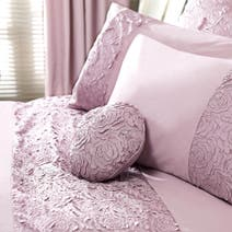 Heather Chloe Rose Round Boudoir Cushion