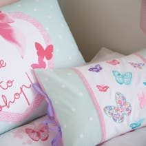 Kids Love To Shop Boudoir Cushion