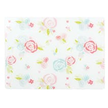Pink Candy Rose Floral Worktop Saver