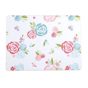 Candy Rose Set of 4 Placemats