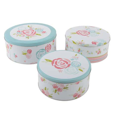Candy Rose Set of 3 Cake Tins