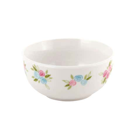 Candy Rose Floral Bowl