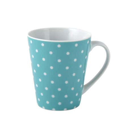Candy Rose Blue Spot Mug