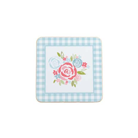 Candy Rose Set of 4 Coasters