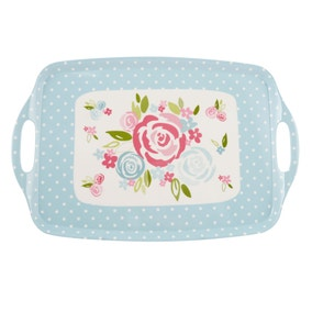 Candy Rose Large Handled Tray