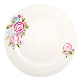 Candy Rose Dinner Plate