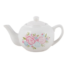 Candy Rose Floral Teapot