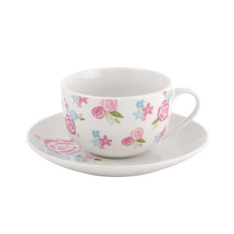 Candy Rose Cup and Saucer