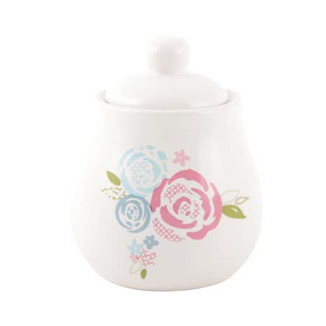 Candy Rose Sugar Bowl