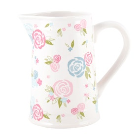Candy Rose Floral Jug