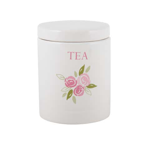Candy Rose Tea Storage Jar