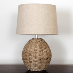 Ali Rattan Table Lamp