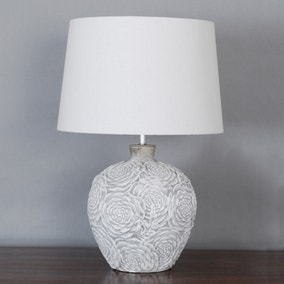 Madrid Stamped Urn Table Lamp
