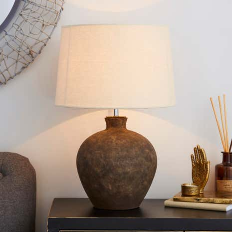 Santiago Washed Urn Table Lamp