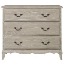 Annabelle Grey Wash Oak 3 Drawer Chest
