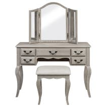 Annabelle Grey Oak Dressing Table Set