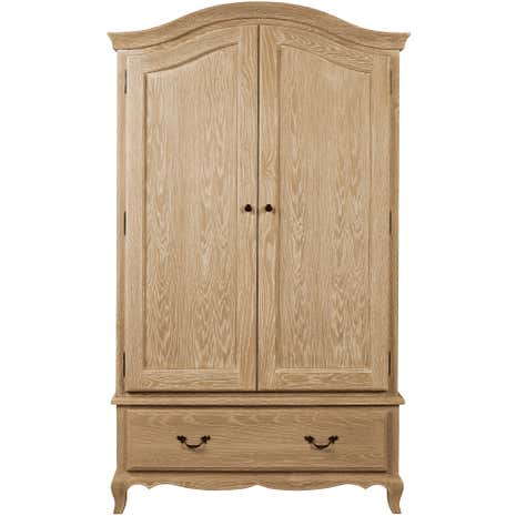 Annabelle Natural Oak Double Wardrobe