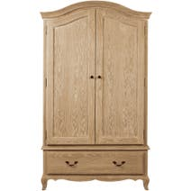 Annabelle Natural Oak Gents Wardrobe