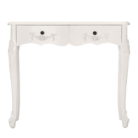 Toulouse White Console Table