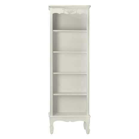 Toulouse White Bookcase