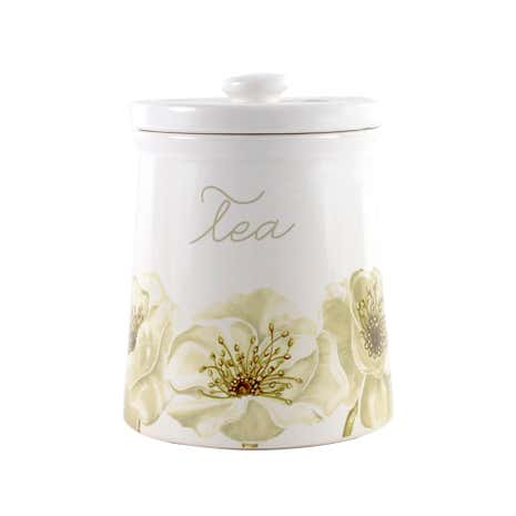Natural Flower Tea Storage Jar
