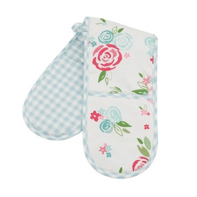 Candy Rose Double Oven Glove
