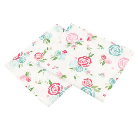 Candy Rose Tea Towels
