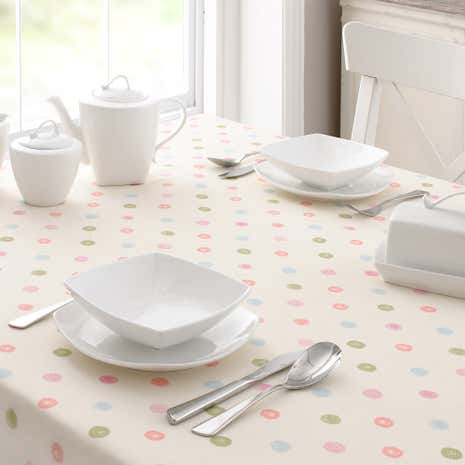Country Candy Spot Table Cloth