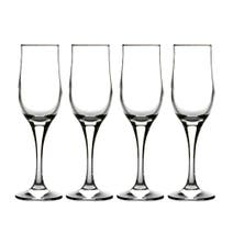 Tulipe Set of 4 Champagne Flute Glasses