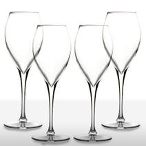 4 Monte Carlo White Wine Glasses