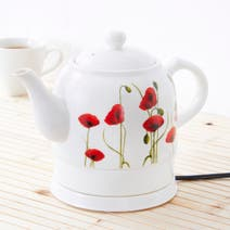 Poppy Ceramic Kettle