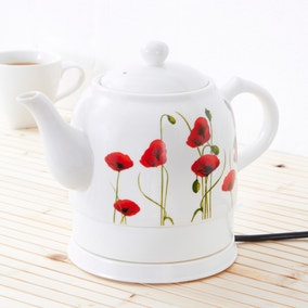 Poppy 1.3L Ceramic Kettle