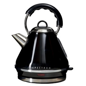 Spectrum 1.7L Black Pyramid Kettle