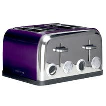 Spectrum Purple 4 Slice Toaster