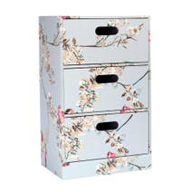 Beautiful Birds Drawer Tower Duck Egg