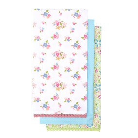 Ditsy Floral Pack of 3 Tea Towels
