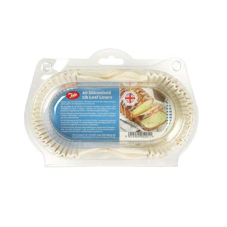 Tala Pack of 40 Loaf Tin Liners